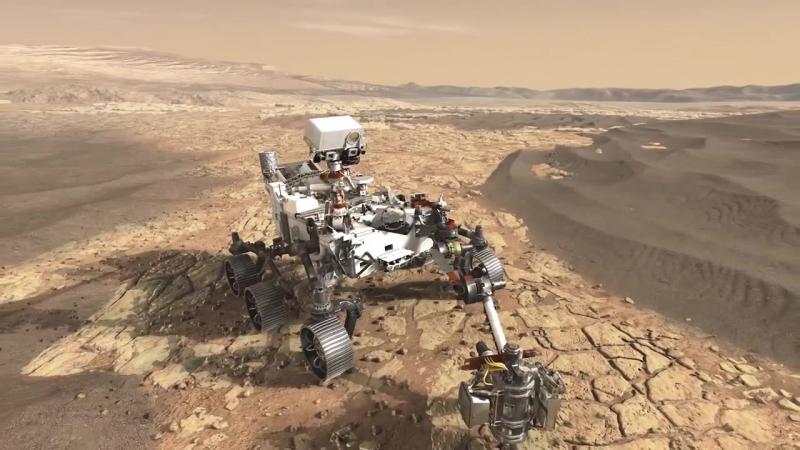 Новый марсианский ровер (MSL 2020)
