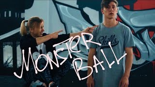 Rizu Tutorial №2 Monster ball or Zen's cartwheel English Subtitles