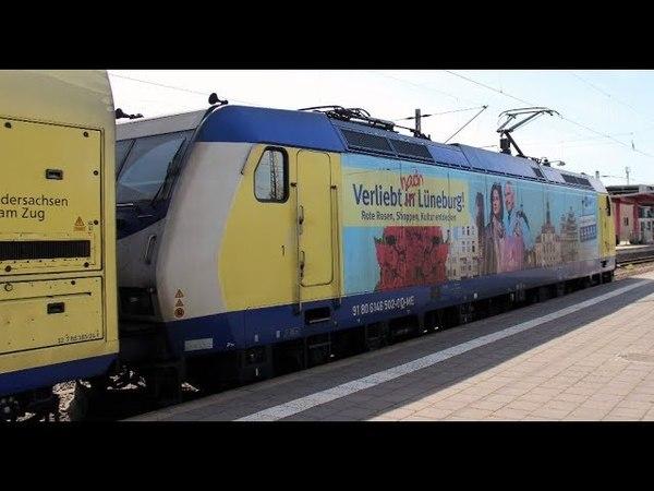 Personen - und Güterzüge auf dem Bahnhof von Celle - 233