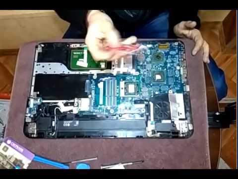 Разбор ноутбука Toshiba SATELLITE L850 D