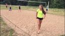 Красивые девушки жара и мяч = первенство Кингисеппа по пляжному волейболу