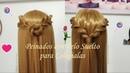 Peinados con Pelo Suelto para Colegialas Fáciles y Sencillos by Belleza sin Limites