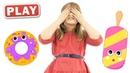 КУКУТИКИ PLAY - Прятки - Детская Песенка Кукутиков про Прятки - Поем и Играем с Соней