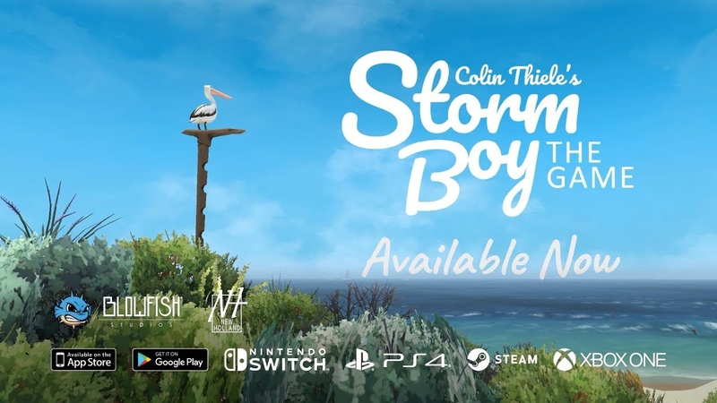 Storm Boy, The Game - Available Now!
