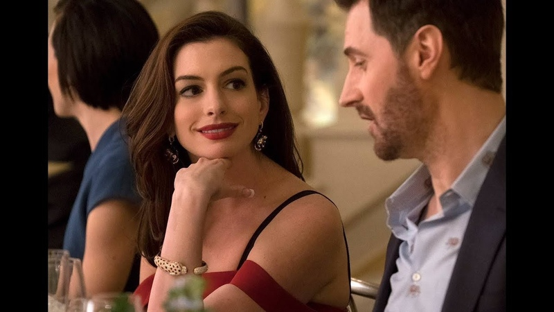 Claude Daphne Oceans 8 2018 Flirting Kissing Anne Hathaway Richard Armitage