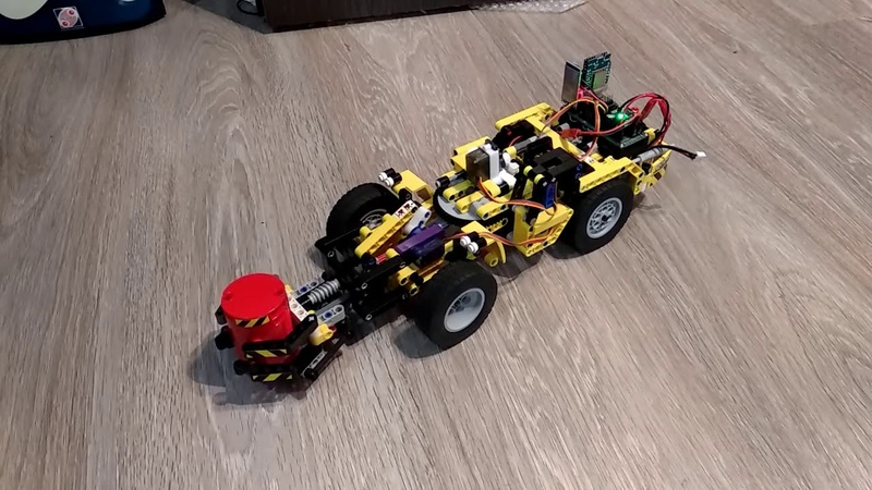Lego Technic 42049 controlled via Bluetooth