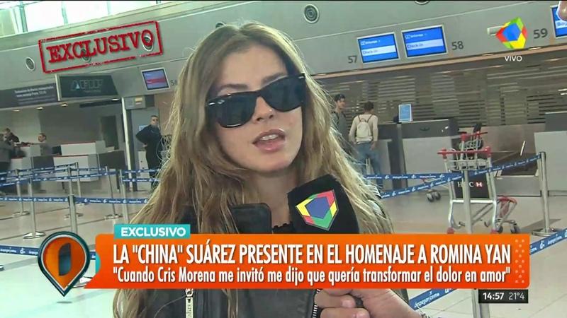 La China Suárez y Benjamín Vicuña hablaron antes de viajar a España