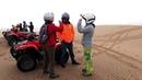 Riding quad bikes in Dunes (Namib desert)