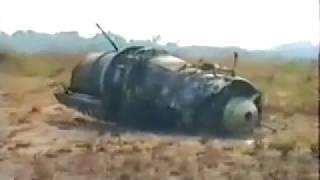 Съёмка на месте катастрофы Ил-76МД в Киншасе 06 июня 1996 г.
