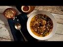 Chicken cornbread dumpling soup Turkish Cuisine