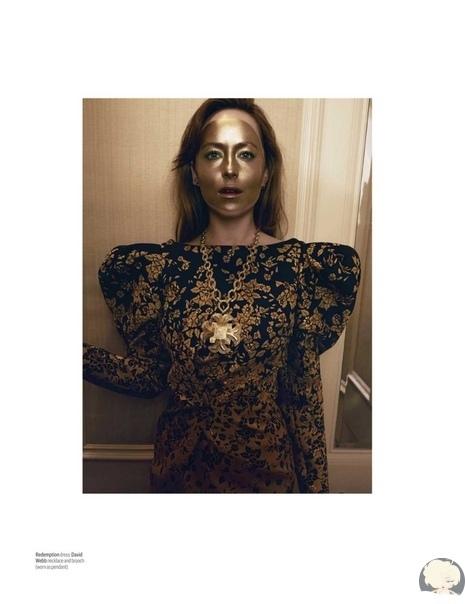 Дакота Джонсон в съемке для W Magazine / октябрь 2018