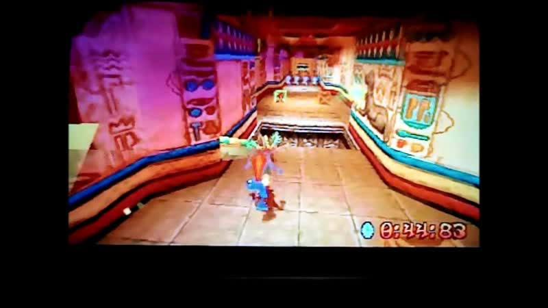 Crash Bandicoot 3:Warped(NTSC-version). Time Trial.Sphyinxinator.50:56. PB