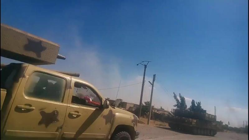 Вторжение Сирийской армии в последние оплоты Daesh в бассейне Ярмук