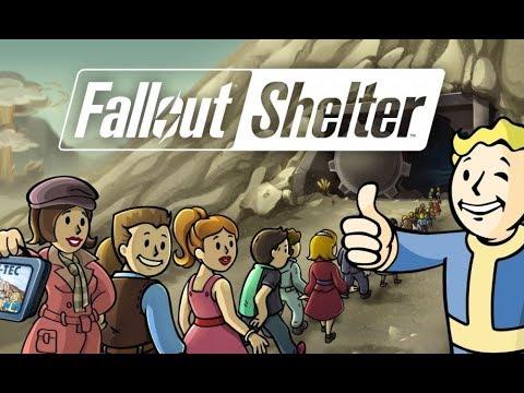 Обзор моего убежища в Fallout Shelter
