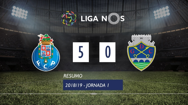 Лига НОШ 2018/19 (Тур 31): Порту – Дешпортиву де Шавиш 5:0