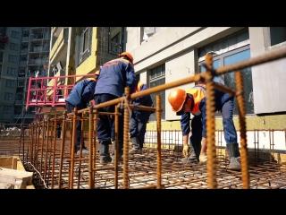 """""""Дом на набережной"""" Ход строительства, июль 2018"""
