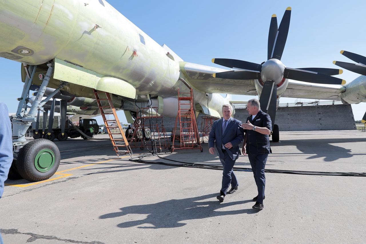 Губернатор Ростовской области Василий Голубев побывал с рабочим визитом в Таганроге