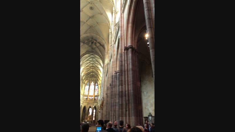 Прага. Собор Святого Вита(внутри)