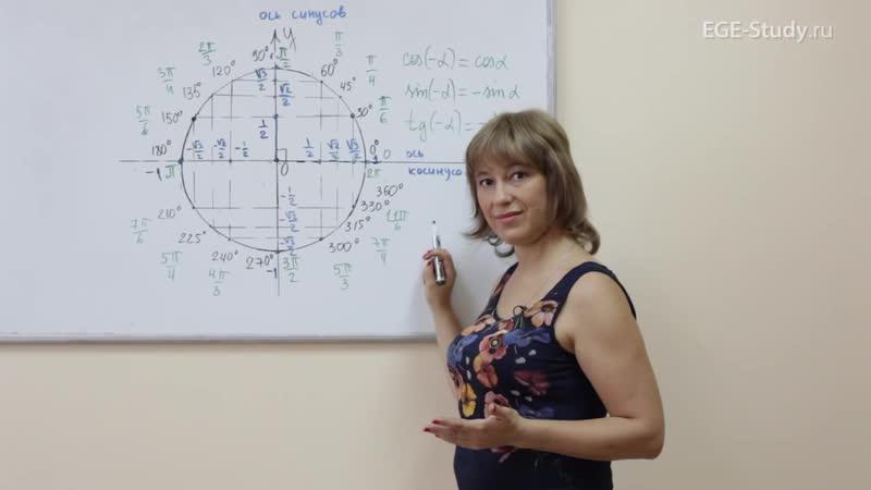 09. Тригонометрия на ЕГЭ по математике. Периодичность тригонометрических функций