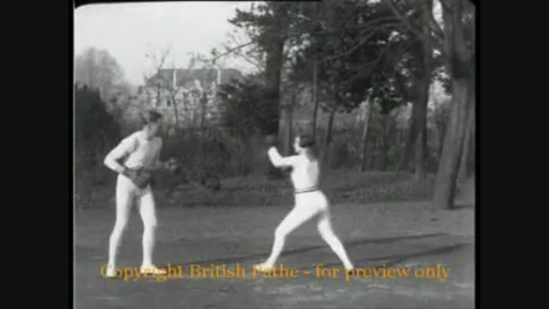 The High Kicker British Pathé