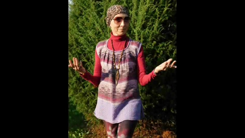 Тканые одежды Лиловая туника