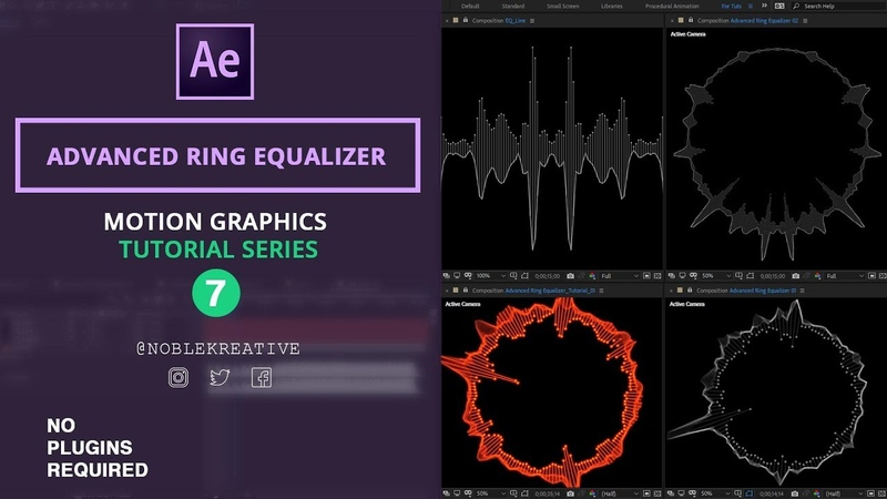 Advanced Ring Equalizer in After Effects | No Plugin Required