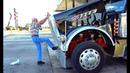 Дальнобой США 83 года водитель 83 year old driver A legend Custom peterbilt