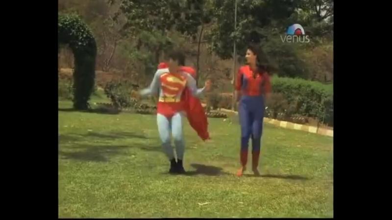 Индийский супермен и женщина паук