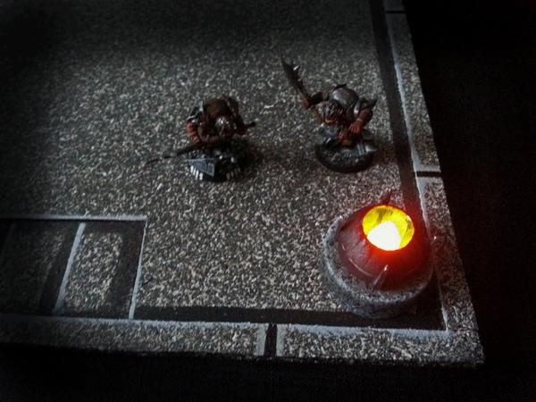 Alternate tea light brazier for DD tiles (The DM's Craft, Short Tip 45)