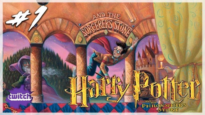 Harry Potter and the Philosophers Stone (PS2) - Запись стрима 1