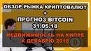 🔥Биткоин: обзор рынка криптовалют на сегодня новости прогноз (Bitcoin) BTC/USD 31.05.2018