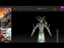 [стрим 15] Чемпион Хаоса. Вархаммер 40к. Лепим шлем warhammer40k slaanesh sculpting cosplay craft