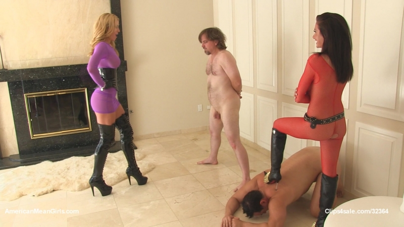 [AmericanMeanGirls] The Randi Randy Show - Spiked BALLBUSTING