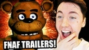 Reacting to old FNaF Trailers!