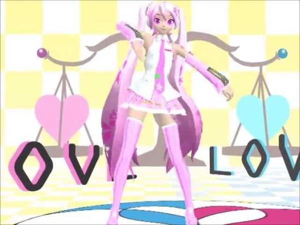 [MMD] two faced lovers sakura miku and mikuo