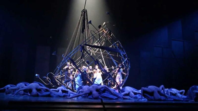 Театр Вахтангова - хореографический спектакль Отелло. Эпизод 1.