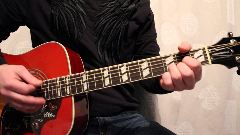 DISARM Smashing Pumpkins Acoustic Guitar Cover (HD)