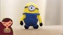 Amigurumi | Como hacer Stuart Minion en crochet | Bibi Crochet
