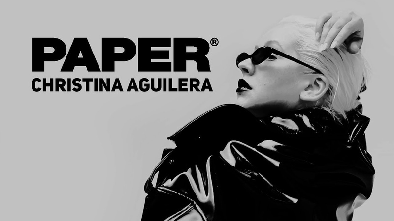 Christina Aguilera For PAPER Magazine (2018) - Behind The Scenes