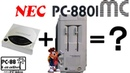 The NEC PC 8801MC Another use for your TurboGrafX CD rom drive PC 88 Paradise