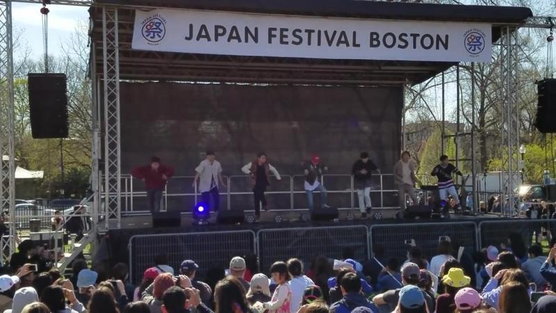 Jr. Exile @ Japan Festival Boston 2016