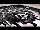 Assasin Creed нарисованный поваренной солью