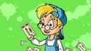 Развивающий мультфильм Профессор Почемушкин Почему американские доллары называют баксами