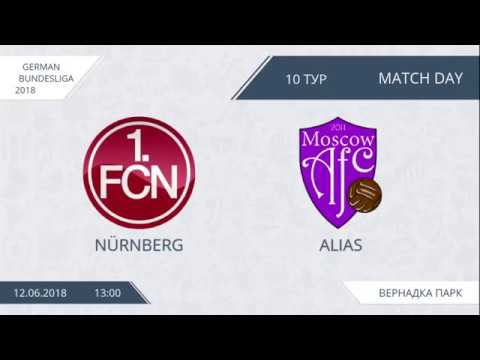 AFL18. Germany. Bundesliga. Day 10. Nurnberg - Alias