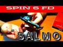 Рыболовная катушка SALMO diamond SPIN 6FD обзор с разборкой