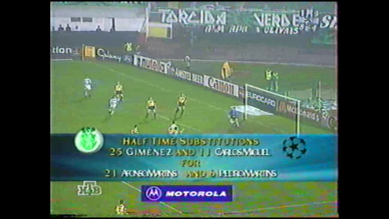 132 CL-19971998 Sporting CP - Lierse SK 21 (10.12.1997) HL