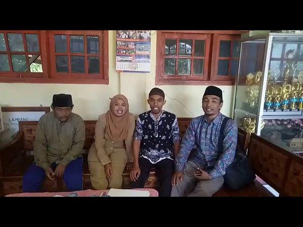 Guru SMP Tenggun Kec Klampis menolak berita Hoax