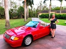 SOLD 1991 Mercedes Benz SL 500 Roadster only 56K Miles for sale by Autohaus of Naples