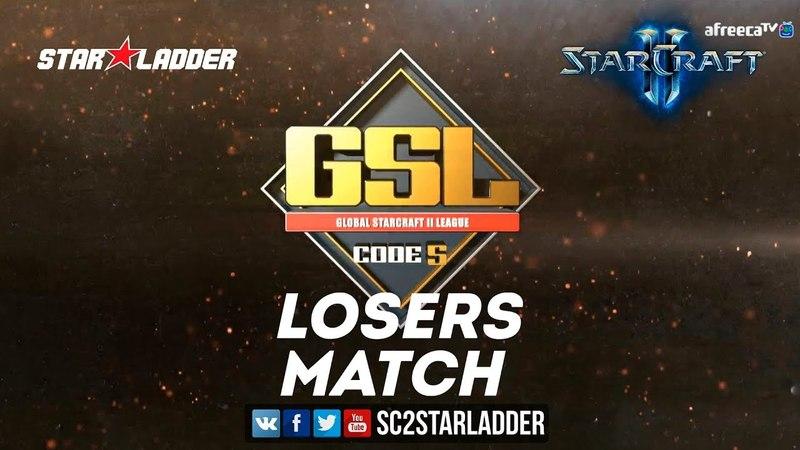 2018 GSL Season 2 Ro16 Group D Losers Match: Stats (P) vs sOs (P)