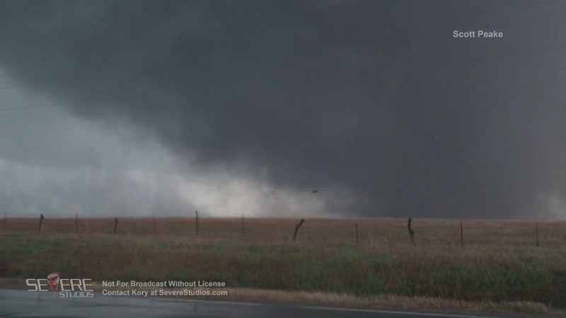 Culver, KS Wedge Tornado 5-1-18